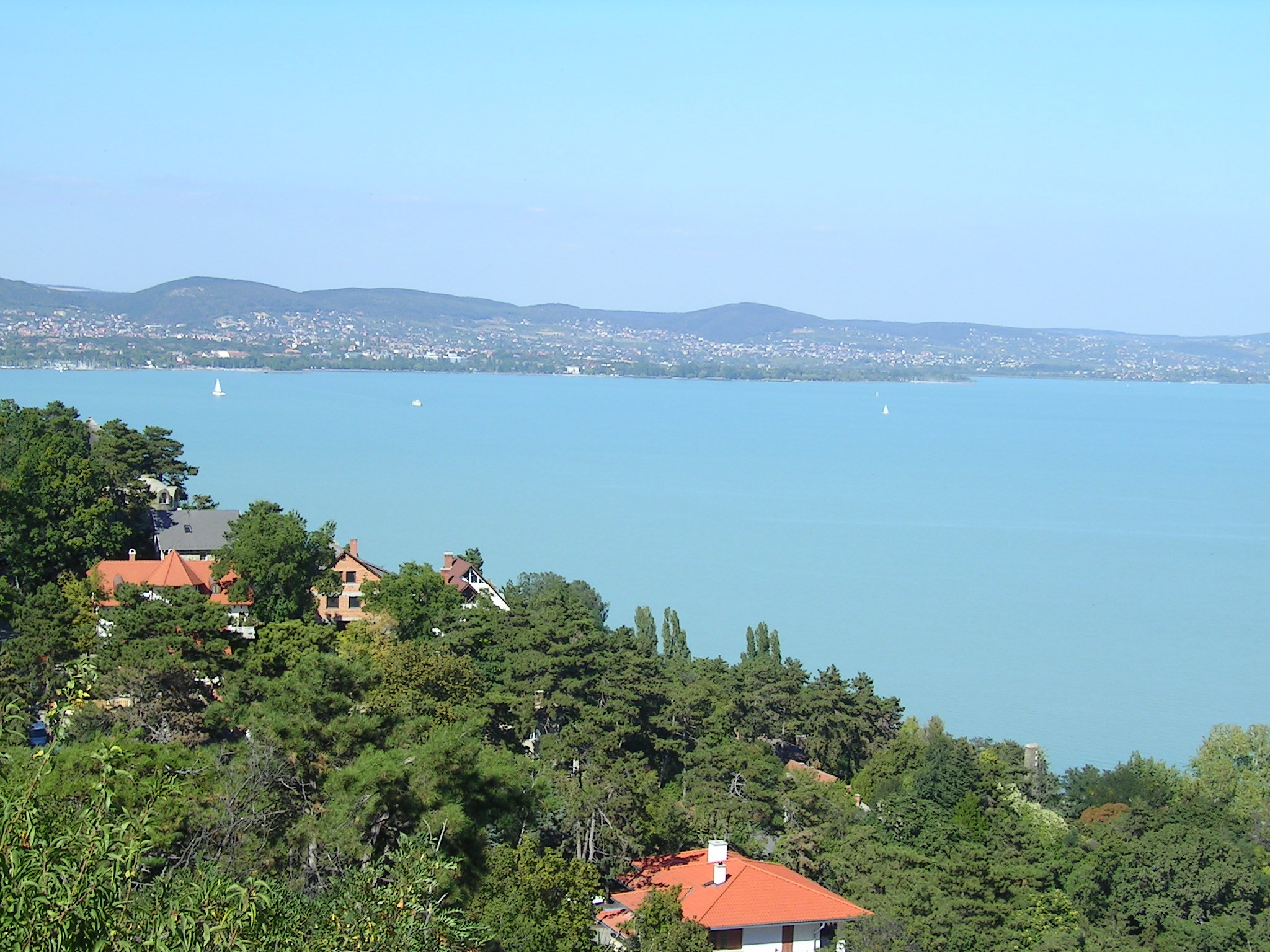 the lake balaton by - photo #6